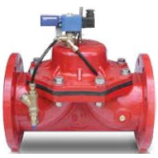 """DN125 R 5""""PN10-16 Yatay Milli Pompa Kontrol Vanası"""