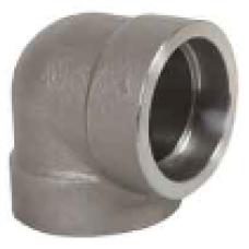 ASTM A 105 Soketli 90° Dirsek SW - Geçme Kaynaklı Dövme Karbon Çelik