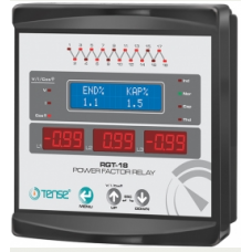 RGT-18,LCD Ekran Trifaze Reaktif Güç Kontrol Rölesi