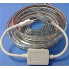 3 Çipli 220 Volt su Geçirmez Silikonlu Beyaz(15mt)