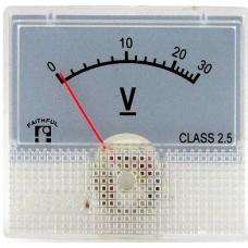 AS-230 48X45,15VDC(Ekran44X25mm) Voltmetre